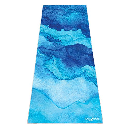 YOGA DESIGN LAB THE HOT YOGA TOWEL by Luxury Non Slip Quick Dry Eco Printed Towel | Designed in Bali | Ideal for Hot Yoga, Bikram, Exercise, Sports, or Travel | Mat Sized (Uluwatu)