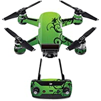 Skin for DJI Spark Mini Drone Combo - Floral Flourish| MightySkins Protective, Durable, and Unique Vinyl Decal wrap cover | Easy To Apply, Remove, and Change Styles | Made in the USA