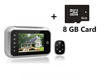 3.5 Inches TFT LCD Screen Digital Door Peephole Viewer Camera Night Vision Wide Angle+video  sc 1 st  Amazon.com & 3.5 Inches TFT LCD Screen Digital Door Peephole Viewer Camera ... pezcame.com
