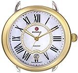 MICHELE Women's MW21B00C9963 Serein 16 Analog Display Swiss Quartz Two Tone Watch Head