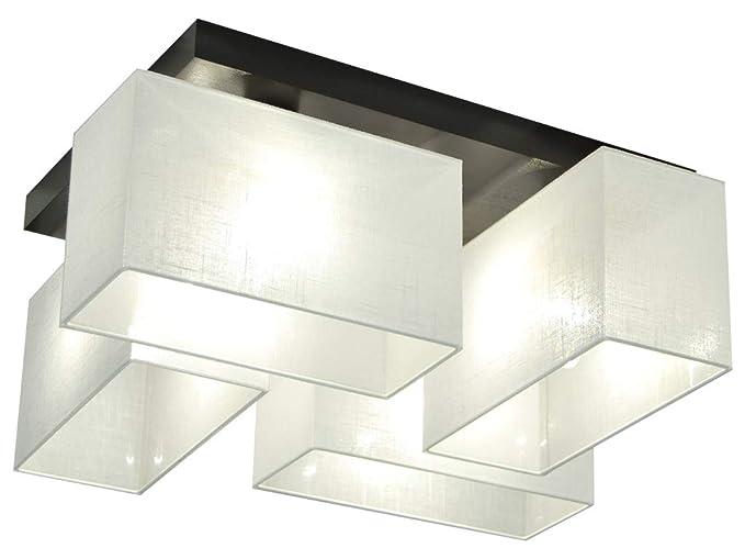 Plafoniera illuminazione a soffitto jls wed in legno massiccio