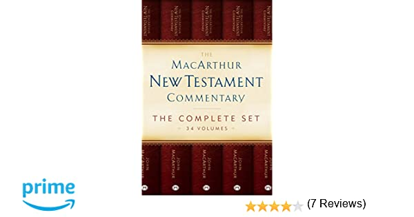 The macarthur new testament commentary set of 34 volumes the macarthur new testament commentary set of 34 volumes macarthur new testament commentary series john macarthur 9780802413475 amazon books fandeluxe Choice Image