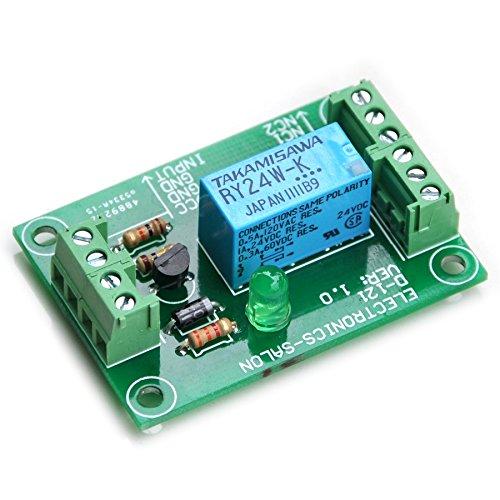 Has Assembled. RY24W-K Relay ELECTRONICS-SALON DPDT Signal Relay Module 24Vdc