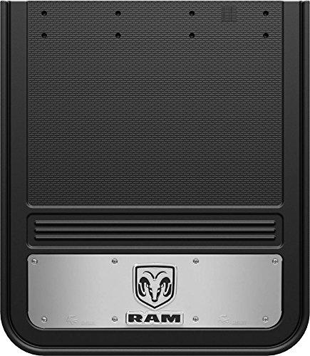 Truck Hardware Gatorback Mud Flaps with RAM Logo - Rear Dually Pair