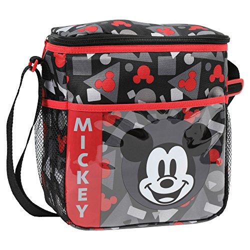 Mickey Mouse Diaper (Disney Mickey Mouse Mini Diaper Bag, Black/Red)