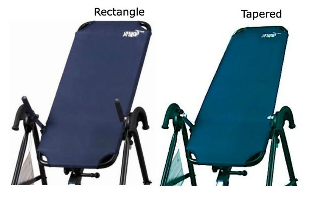 Replacement Canvas for Teeter Inversion Tables - Tapered by Unknown