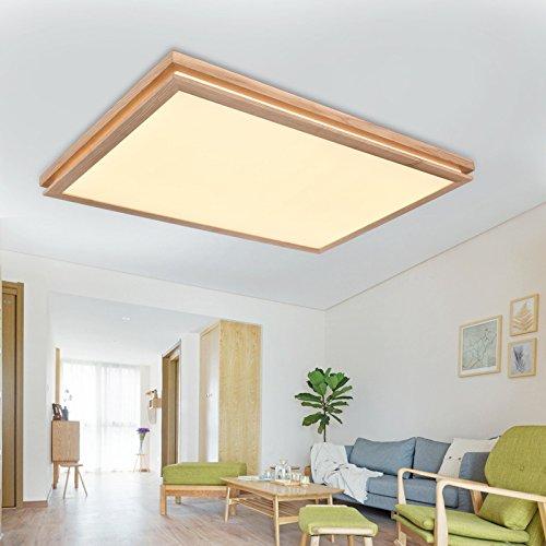 BLYC- Moderne minimalistische Schlafzimmer-Lampe kreative -Deckenleuchte Licht Nordic Holzdecke led Lampe , 970*650