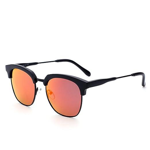 WKAIJC Hombres Y Mujeres Gafas De Sol Deslumbrante Color ...