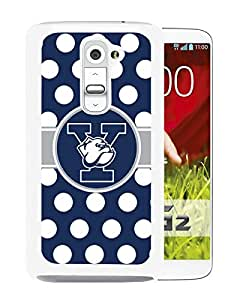Ncaa Yale Bulldogs 9 White Hard Shell Phone Case For LG G2