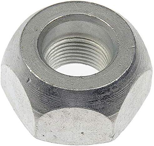 Dorman 611-0048.25 シルバー 3/4インチ -16ホイールナット標準1 1/8インチ 六角 0.63インチ。 長さ、25個パック。