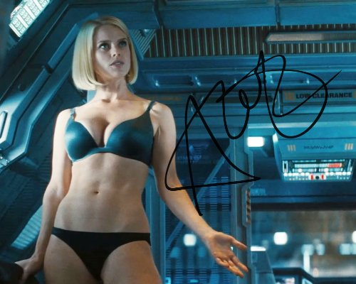 Star Trek Into Darkness Alice Eve Carol Marcus signed reprint sexy photo RP