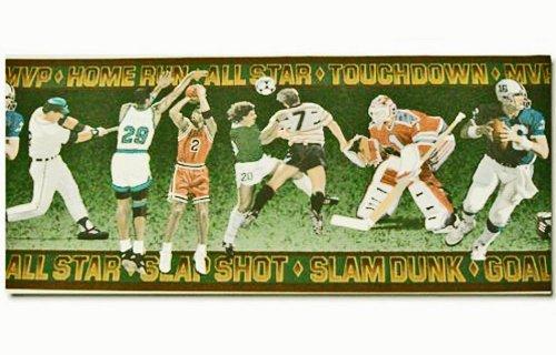 All Star Sports Prepasted Wall Border ()
