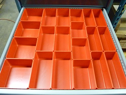 Schaller 65 Pc Red Plastic Box Assortment . 3