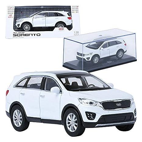 Amazon Com Treforze 1 38 Kia All New Sorento White Display Mini Car