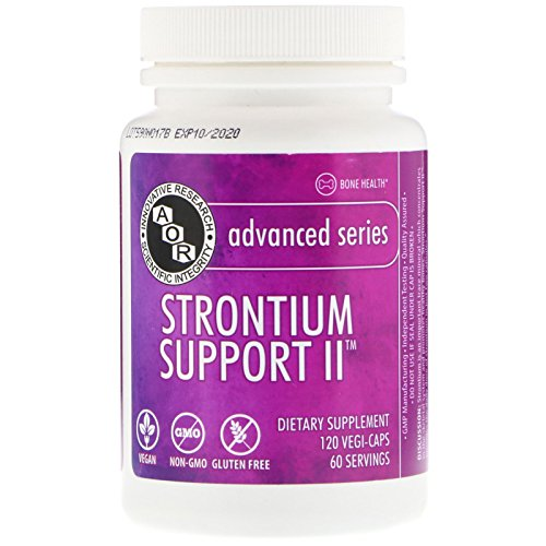 Advanced Orthomolecular Research AOR Strontium Support II Capsules, 120 Count