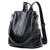 LoZoDo Women Backpack Purse Waterproof Anti-theft Rucksack Lightweight Shoulder School Bags for Girls (a-Black)