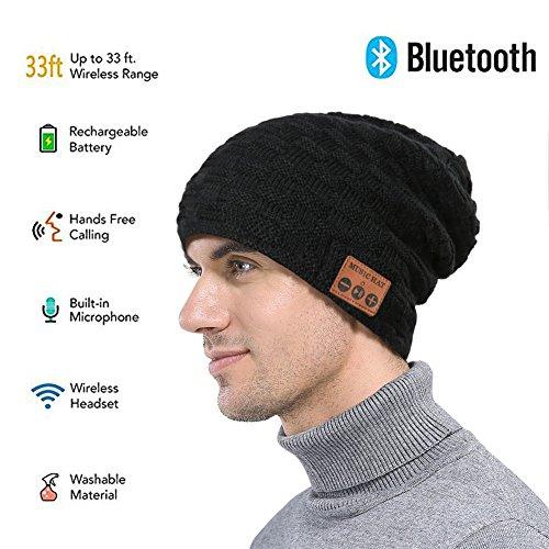 Review Wireless Bluetooth Beanie ,Unisex