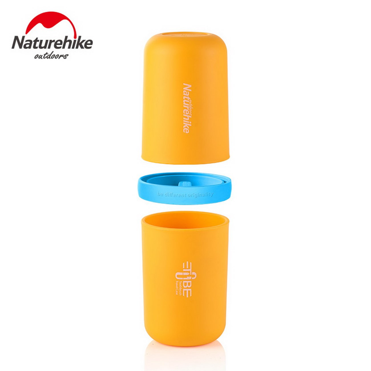 Naturehike water bottle travel wash cup travel multifunction kit tooth cups  NH17X020-B  Amazon.co.uk  Kitchen   Home 802aa623fd15e