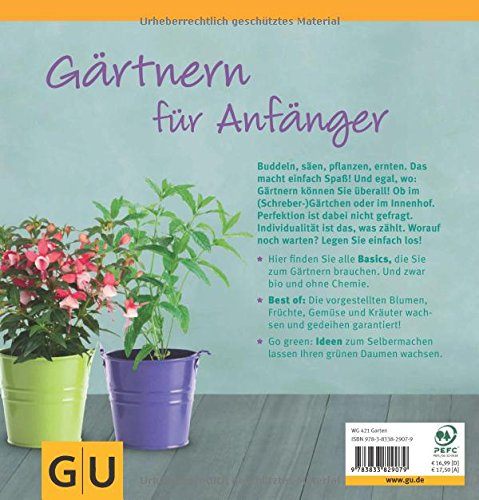 Garten Basics - Gärtnern Für Anfänger: Amazon.co.uk: Mascha ... Gartnern Fur Anfanger
