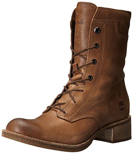 Timberland botas de Whittemore Raw mujer de la Woodlands Hide encaje Mid rxPrT6n