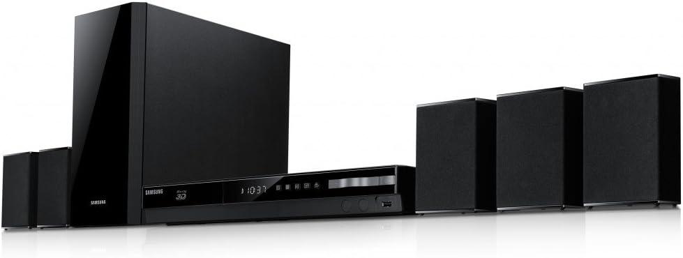 Samsung HT-F4500 - Equipo de Home Cinema 5.1 de 500 W (Ethernet, HDMI), negro: Amazon.es: Electrónica