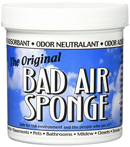 The ORIGINAL Bad Air Sponge Odor Absorbing Neutralant, 14oz(Packaging May Vary)