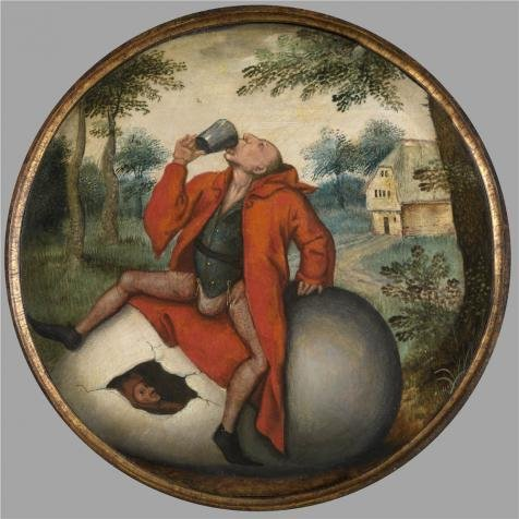 [Oil Painting 'Pieter Brueghel II,A Flemish Proverb,1564-1636' Printing On Perfect Effect Canvas , 10x10 Inch / 25x25 Cm ,the Best Garage Decor And Home Decoration And Gifts Is This Amazing Art Decorative Canvas] (C Viper Costumes)