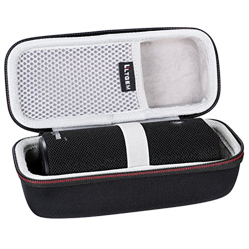 LTGEM Case Travel Carrying Storage Bag for Amazon Tap - Alexa-Enabled Portable Bluetooth Speaker.Fits USB Cable and Wall Charger