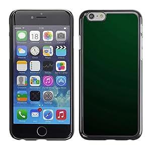 PC/Aluminum Funda Carcasa protectora para Apple Iphone 6 Simple Green / JUSTGO PHONE PROTECTOR