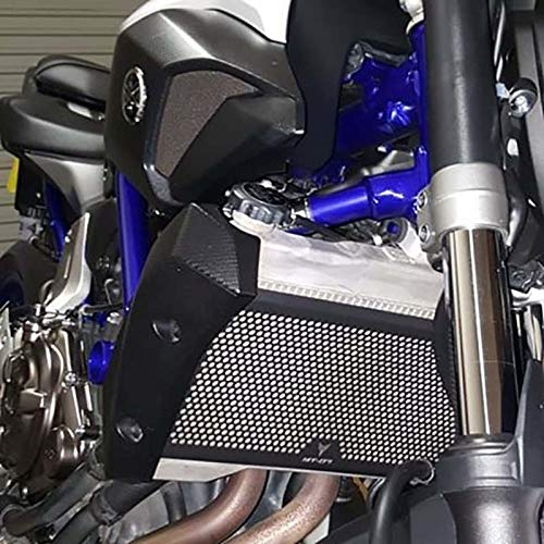 Color: No Logo Instead of Iron Fittings 2018 New for Yamaha MT-07 FZ-07 MT07 FZ MT 07 Radiator Grille Guard Cover Protector Aluminum