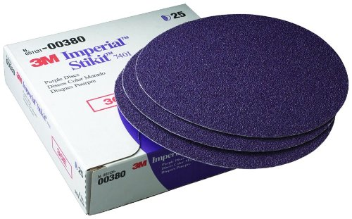 3M 00380 Imperial Stikit 8'' 36E Grit Disc by 3M (Image #1)