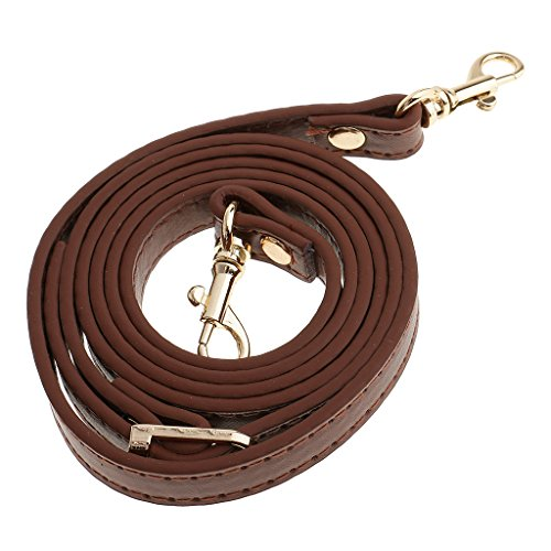 Adjustable DIY Straps Handles Handbag Bag Black Length Brown Shoulder MagiDeal Accessories 120cm Adjustable 8q6EC5