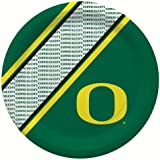 NCAA University of Oregon Disposable Paper Plate (20-Pack)