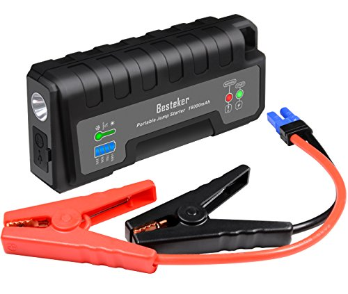 besteker portable car jump starter 700a peak 16000mah up. Black Bedroom Furniture Sets. Home Design Ideas