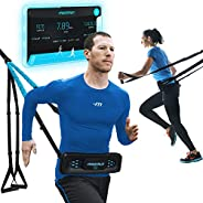 MoonRun Portable Cardio Trainer for Home Workout with Virtual Running apps | Home Gym for Total Body Fitness -