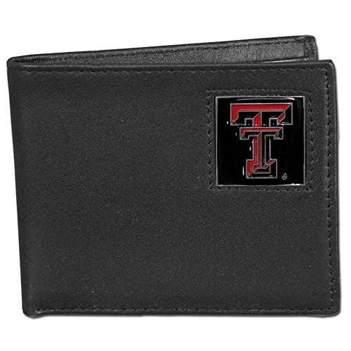 Siskiyou Texas Tech Red Raiders Bi-fold Leather Wallet