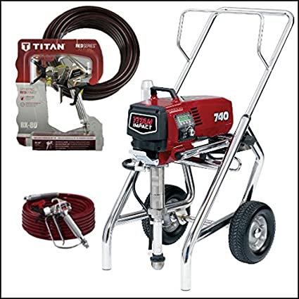 Titan Impact 740 High Rider Airless Sprayer 805-007 With
