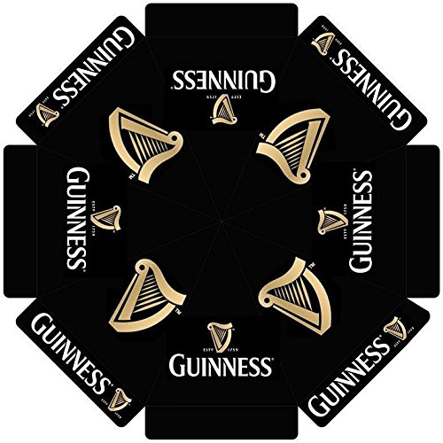 GUINNESS STOUT w/ HARP LOGO 7 foot BEER UMBRELLA MARKET PATIO STYLE NEW (Umbrella Guinness Patio)