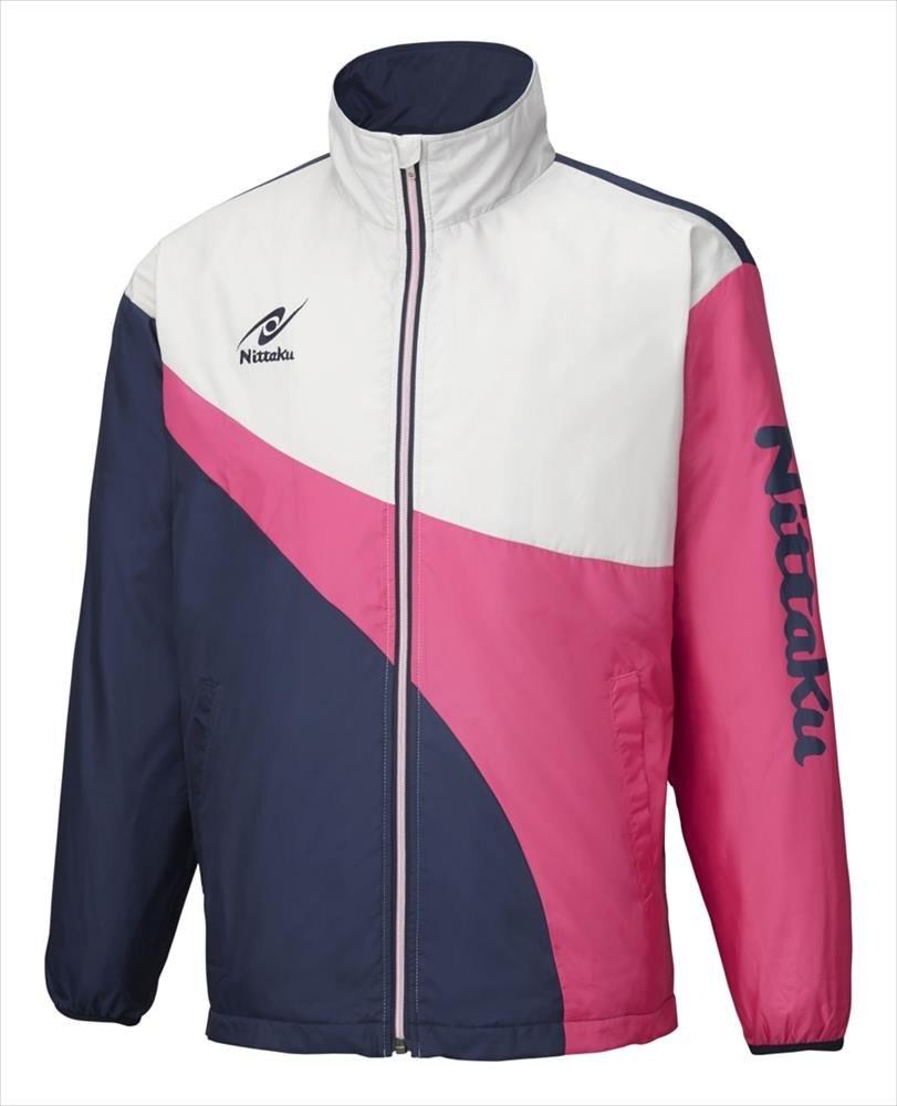 Nittaku (ニッタク) 日本卓球 ライトウォーマーSPRシャツ ピンク NW-2848 1801 メンズ 紳士 男性 B079DN72ZT 21.ピンク Large