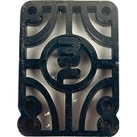"""Almohadillas elevadoras de monopatín de logotipo mini - 1/4 """""""