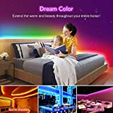 KORJO Dream Color LED Strip Lights, 32.8ft/10M