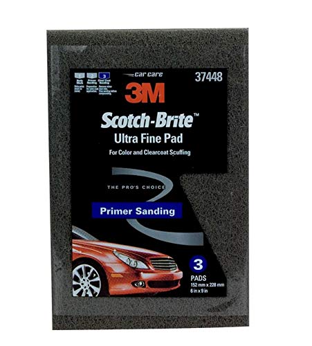 Scotch-Brite 61500195054 37448 Ultra Fine Hand Pad, 6