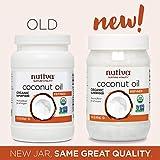 Nutiva Organic, Steam Refined Coconut Oil from non-GMO, Sustainably Farmed Coconuts, 15 Fl Oz (Pack of 1)