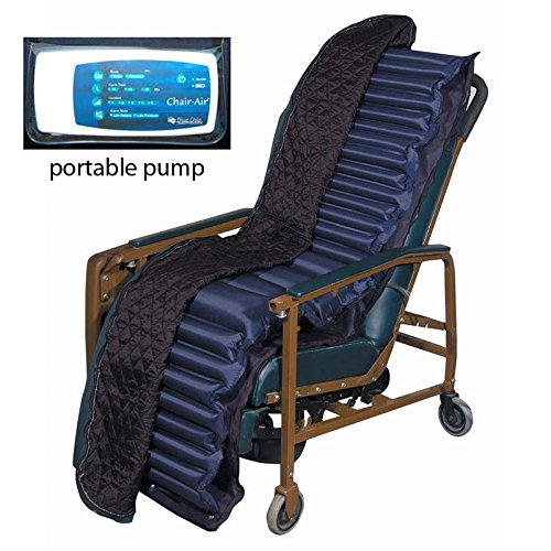Blue Chip Medical Alternating Pressure Geri chair RECLINER OVERLAY Prevent & Treat Pressure Ulcers 9700 GR