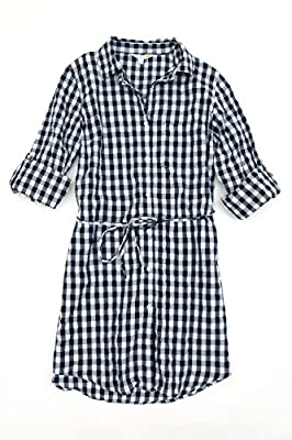 C & C California Women's Button Up Shirt Dress