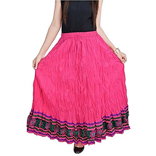 Pink Export smskt508 Indian Women Handicrfats Skirt Rajasthani Cotton magenta qBwgHwx