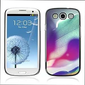 Super Stellar Slim PC Hard Case Cover Skin Armor Shell Portection // V0000428 Rainbow Colours Of Sunshine // Samsung Galaxy S3 i9300