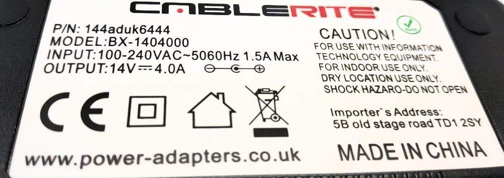 14v power supply adapter for Samsung ue22f5410ak 22 led tv model