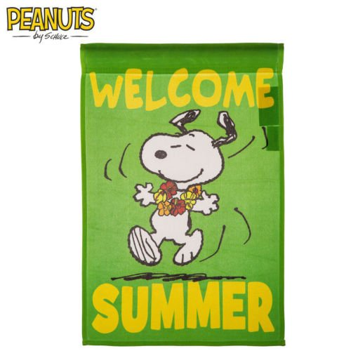 (Peanuts WELCOME SUMMER Flag 12