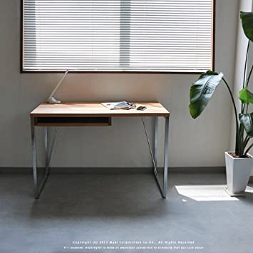 アンティーク調 マホガニー無垢材 机 椅子セット チャーチチェア デスク ダーク